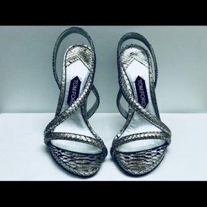 Beautiful metallic Tom Ford sandals